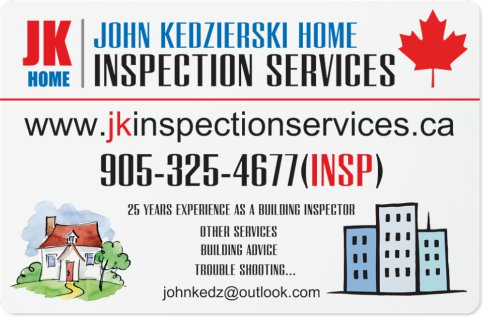 jk Inspection Service Rates